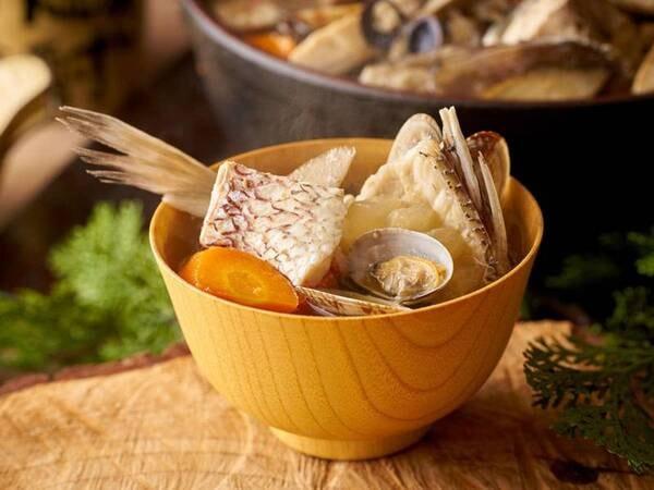 【9/1~11/30】秋の料理フェア 【朝食】漁師の海鮮汁/例