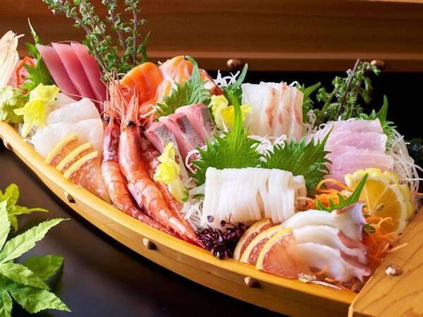 【通年/夕食】揚げたて天ぷらはライブキッチンでご提供