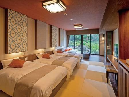 新設ベッド和室・和室(本館)/一例