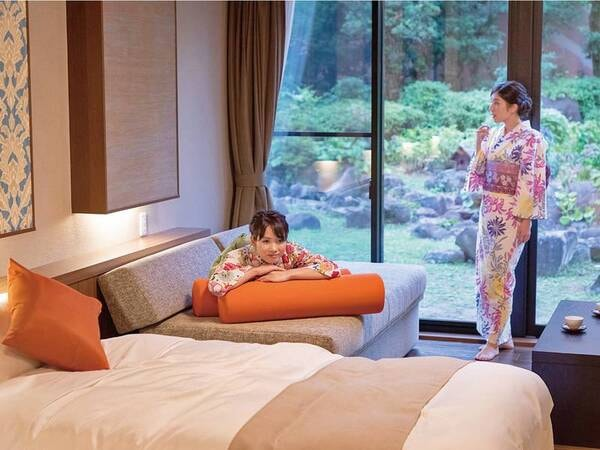 新設ベッド和室・和室(本館)一例