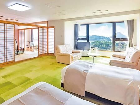 【海眺望】特別室(8畳+ツイン)西館/一例