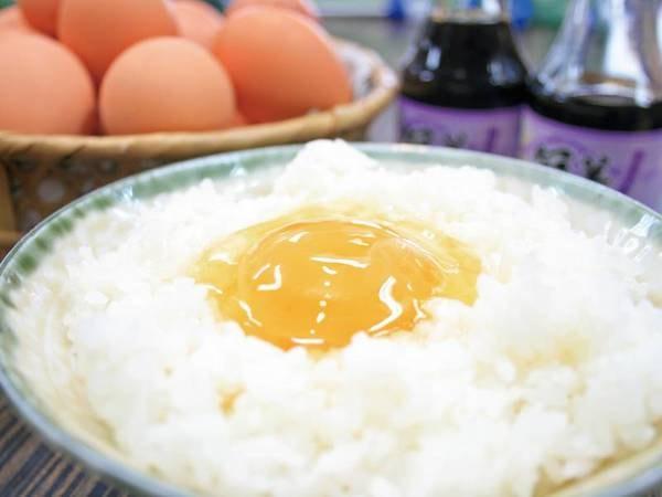 【朝食/例】宿こだわりの卵は食べ放題!