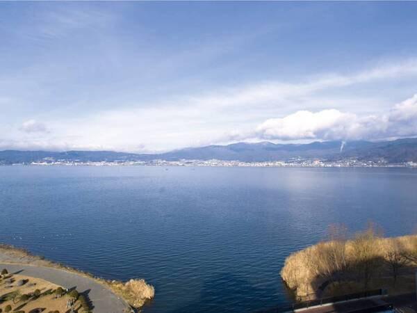 【諏訪湖の景観】
