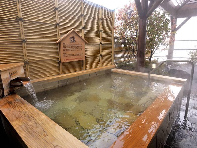 【地酒風呂】上諏訪温泉に諏訪の地酒を混合した名物風呂