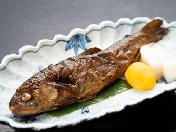 *【夕食】焼きマス甘露煮(一例)