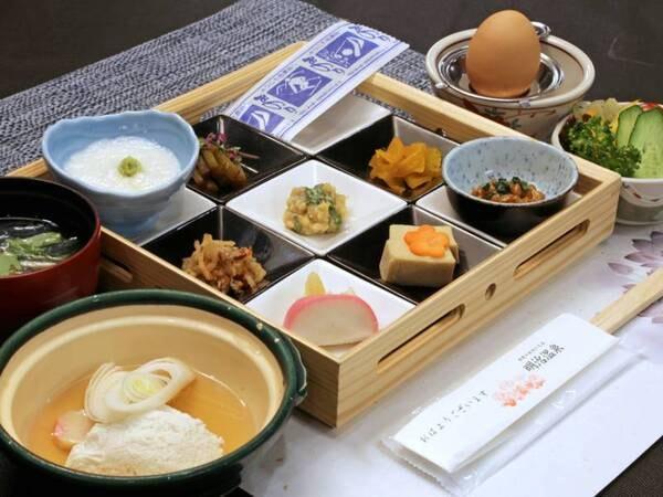 *【朝食】お料理全体/春期~秋期(一例)