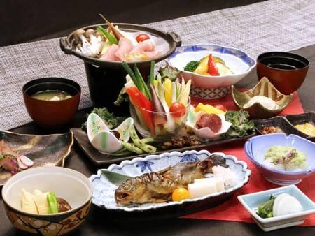 *【夕食】スタンダードコース/お料理全体(一例)