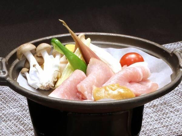 *【夕食】信州豚の味噌鍋