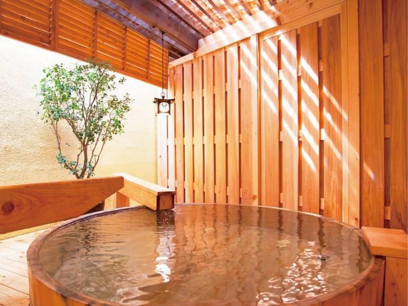 【華の湯/露天風呂】