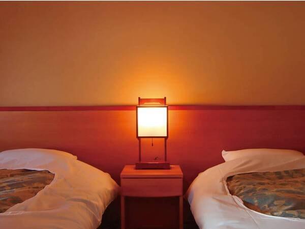 【和室ツイン/例】和室にベッドで寛げる
