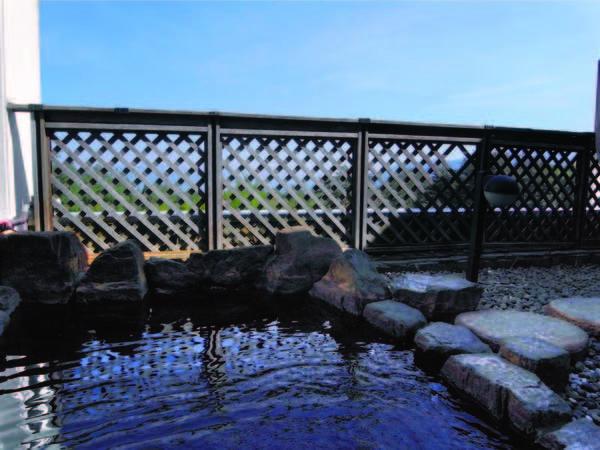 【露天風呂】大パノラマ一望の露天でゆったり