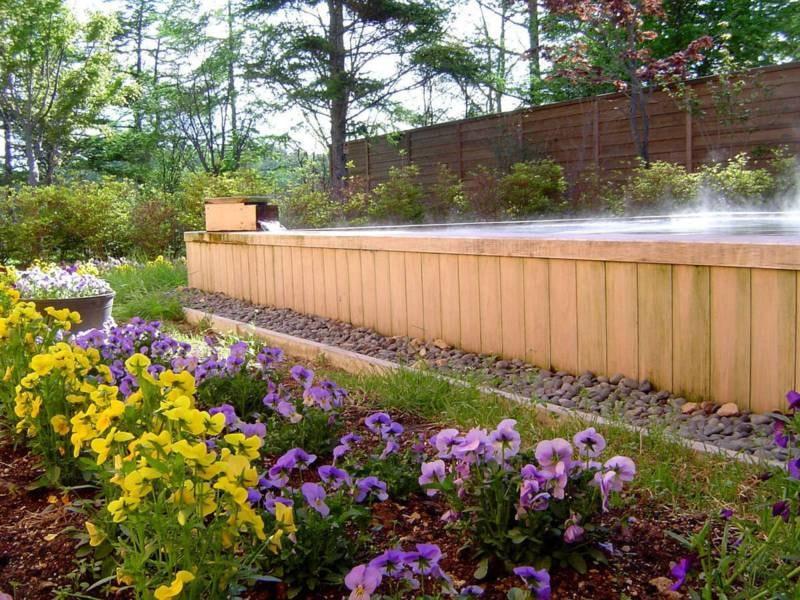 【露天風呂】四季折々の大自然に囲まれた開放感あふれる露天風呂