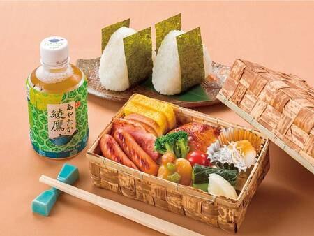 【ルームサービスプラン】朝食(おにぎりセット一例)