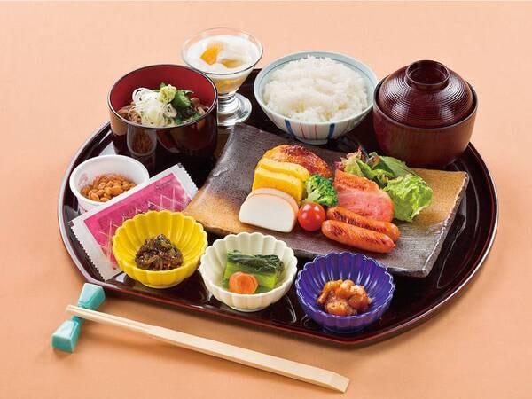 和洋選べる本格コース(朝食/和食一例)