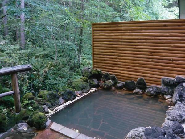 【併設露天風呂】大自然に囲まれてゆったり