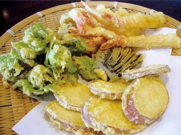 【天ぷら/例】季節の食材にこだわる