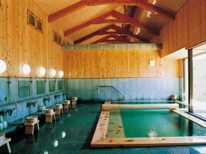 【大浴場】江戸情緒あふれる湯屋造りの湯殿