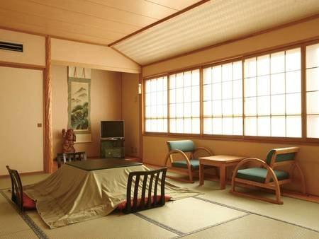 【12畳和室/例】ゆとりの広さの12畳和室にご案内(大人3名以上限定)