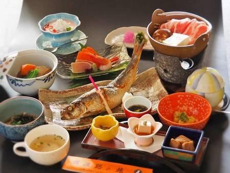 ニシン姿焼肴or信州ポーク陶板焼き/一例