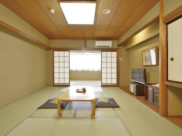 【和室[10畳以上]/例】バス・洗浄機能トイレ付のゆったりとしたお部屋