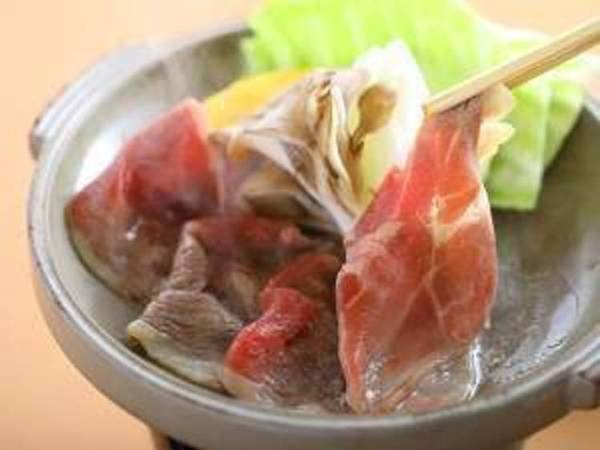猪肉の陶板焼き≪特製味噌だれ≫