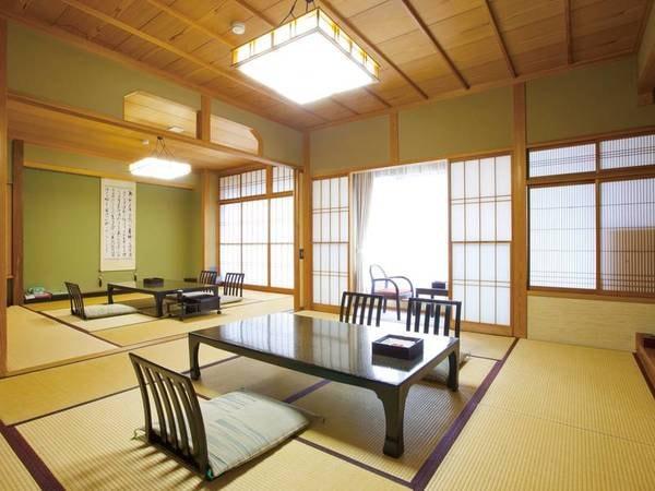 【和室10畳+8畳 特別室】二間の特別室/一例