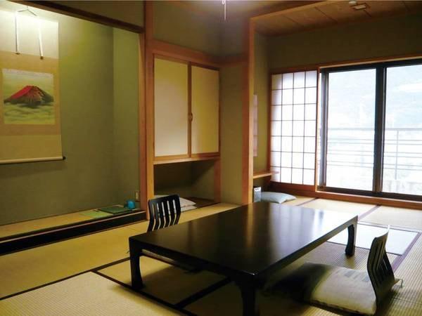 【和室10畳・バス付き】広縁付きの純和室/一例