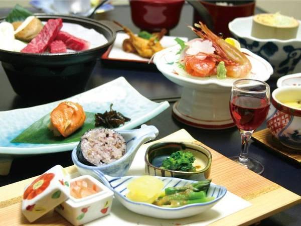 【信州産ポーク会席/例】 信州産ポークを中心とした地元の美味を堪能!