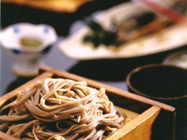 【山人料理満喫/例】蕎麦は手打ちでご用意!