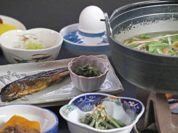【朝食/例】朝にやさしい朝食