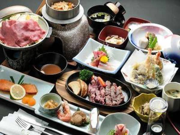 【牛ステーキ付料理/例】