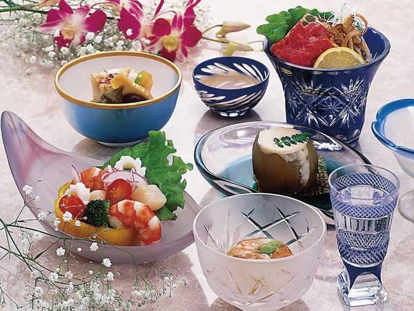 【レディースプラン/例】料理長お任せの和会席をご用意!
