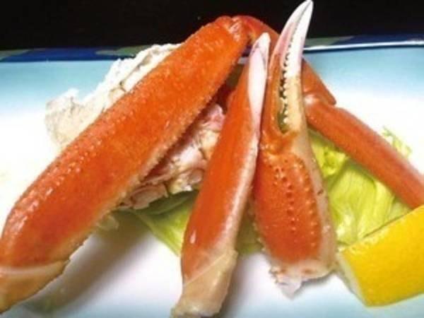 【選べるメイン&ズワイ蟹&あわび会席/例】ズワイ蟹を味わえる贅沢プラン