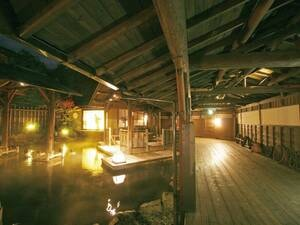 【江戸情話 与市】浴槽面積男女計1,000㎡と世界最大級の広さ!