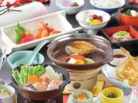 【季節の和食膳/例】厳選された山海の幸が愉しめる!