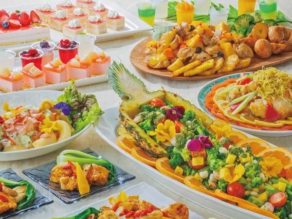 【ディナーバイキング/例】出来立ての料理が並ぶ!お子様にも大好評!