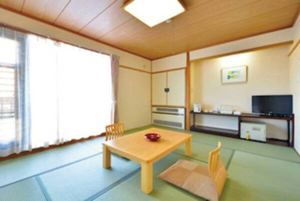 【10畳和室(風呂・トイレ付)/例】お部屋のお風呂も温泉!お好きなだけ♪
