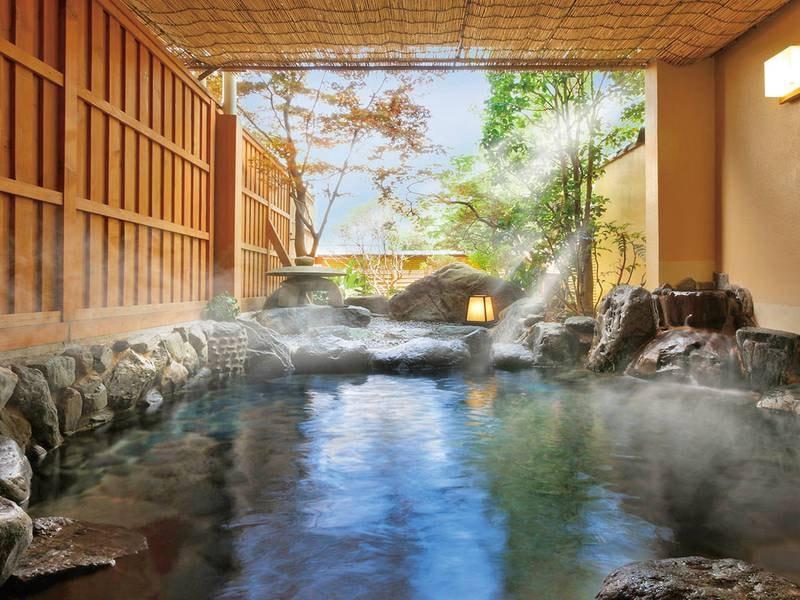 【貸切露天風呂】1組60分無料でご利用可!温泉をひとりじめしていただけます