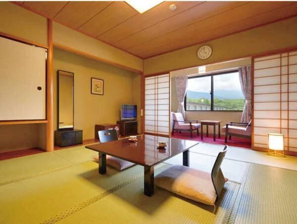 【スタンダード和室/例】落ち着いた雰囲気の10畳+広縁付の和室