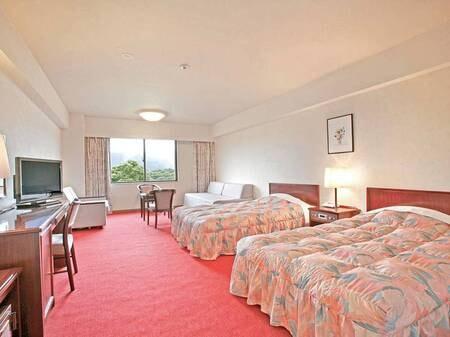 【スタンダード洋室/例】リゾート気分を高揚させる37平米の洋室