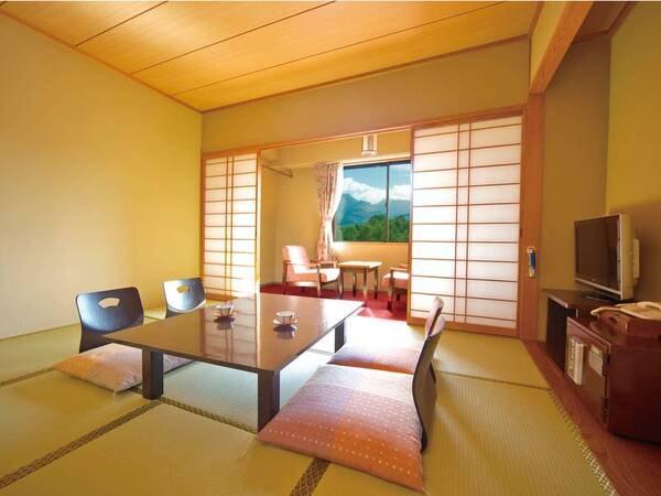 【磐梯山眺望和室/例】磐梯山を眺望する客室を確約!