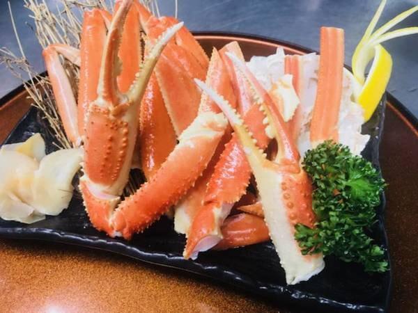 【ズワイ蟹盛り会席/例】新鮮な蟹を存分に満喫