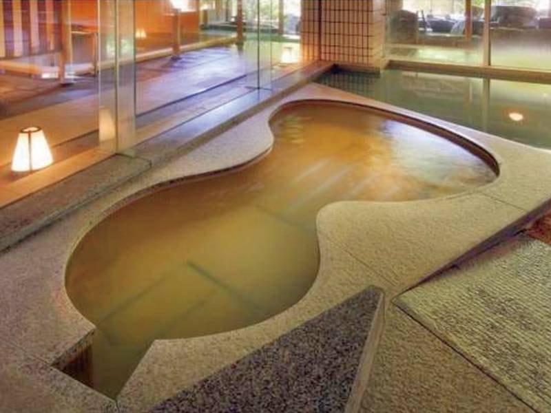 【庭園露天風呂/親子風呂】華の湯全体でお風呂は30種類!