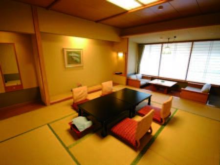 【松風館和室/例】10畳以上+広縁付の和室をご用意