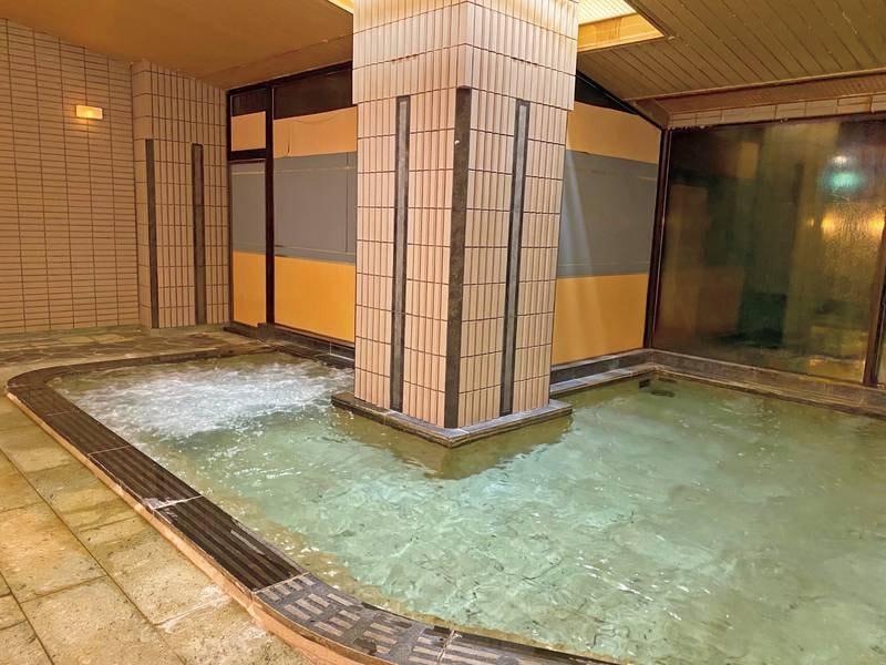 大浴場【月明かりの湯・花明かりの湯】ジェットバス付きで心身ともに癒される