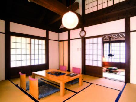 【客室/例】囲炉裏と和室の二間続きの一軒家!「離れ」のプライベートルーム