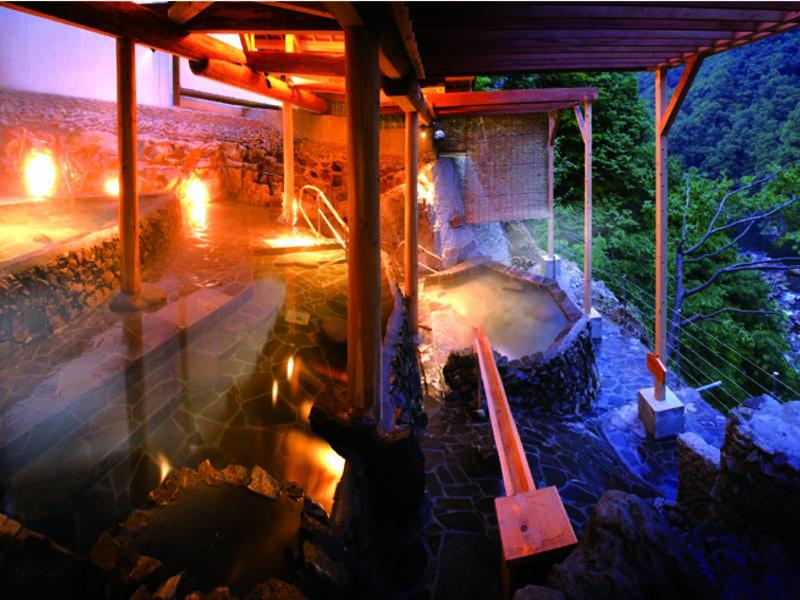 【露天風呂】湯船から眺める景色が絶景!