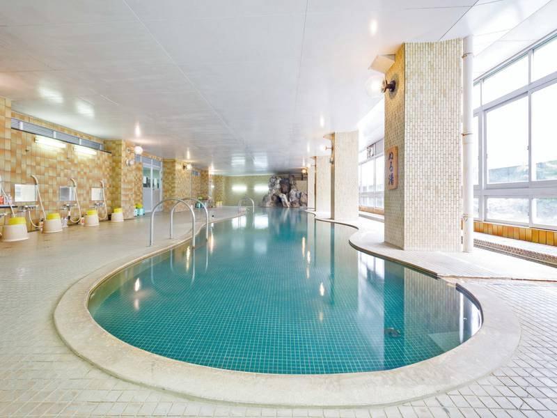 【大浴場】土湯温泉で一番の大きさを誇る大浴場
