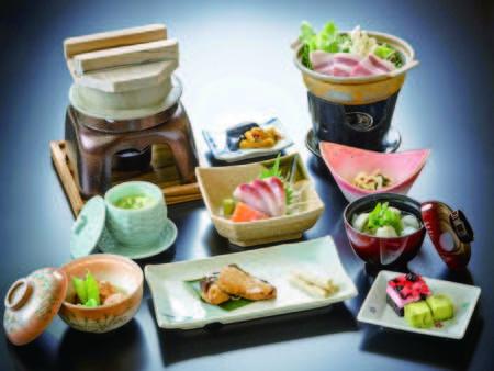 【季節の和食膳/例】季節の食材を使った料理長こだわりの和食膳