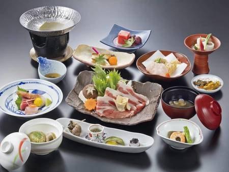 【和食膳/例】和食膳またはお手前料理+ハーフバイキングをご用意※指定不可